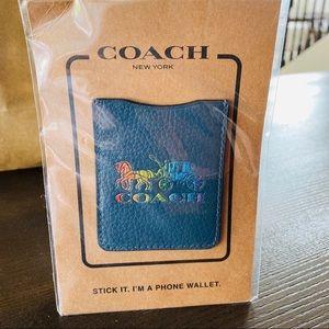 Coach Cell Phone Card Holder